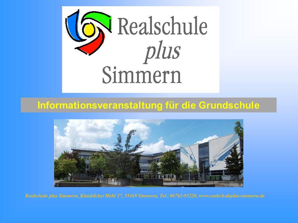 Informationsveranstaltung für die Grundschule