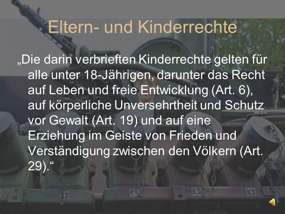 Eltern- und Kinderrechte