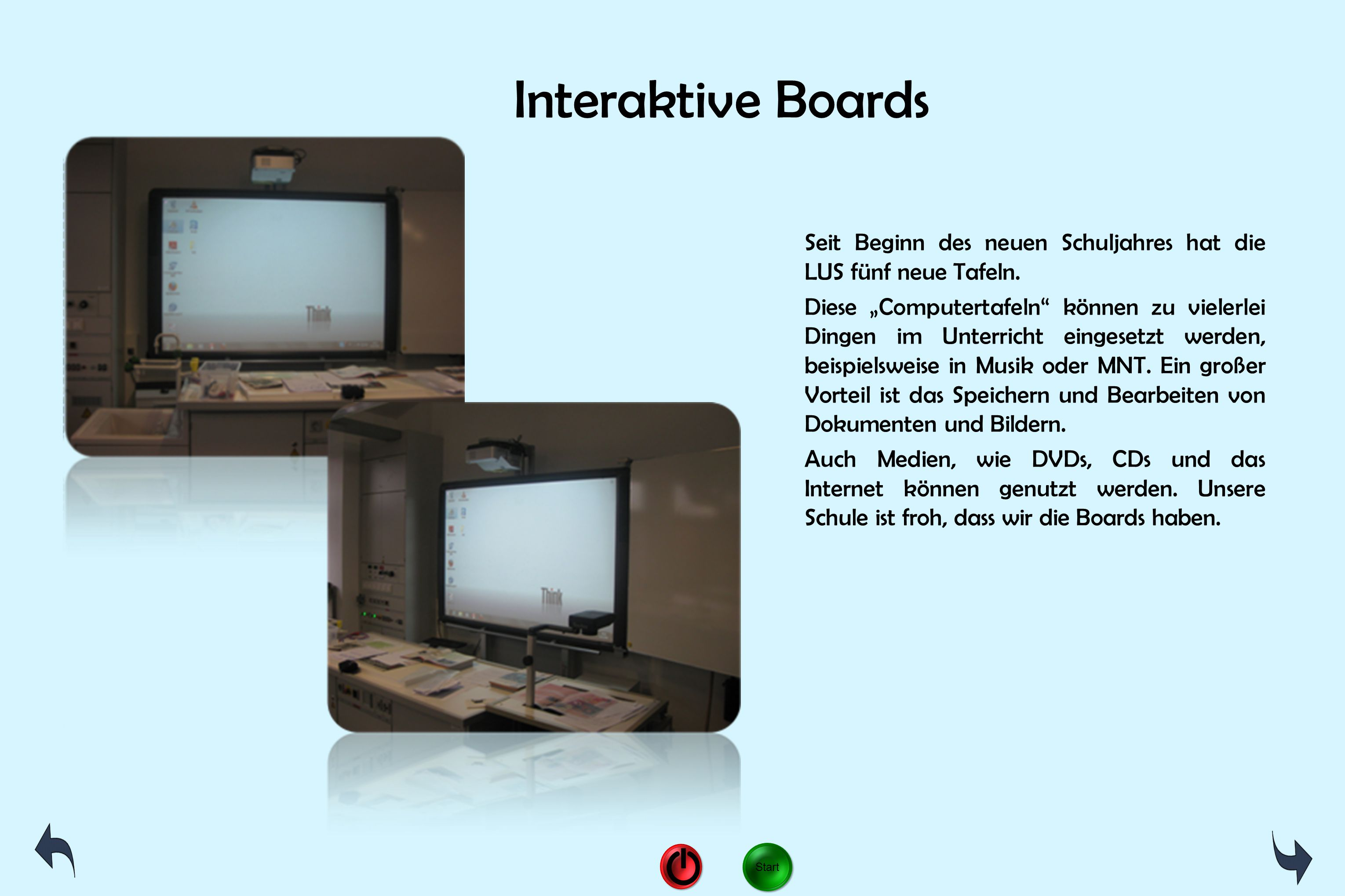 Interaktive Boards