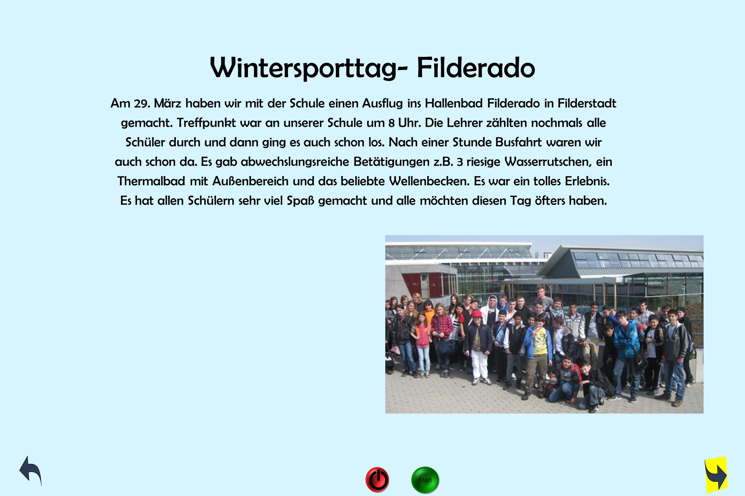 Wintersporttag- Filderado