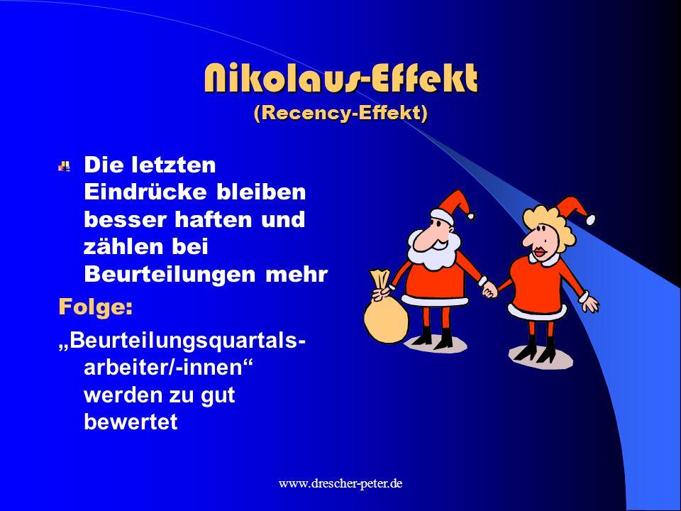 Nikolaus-Effekt (Recency-Effekt)