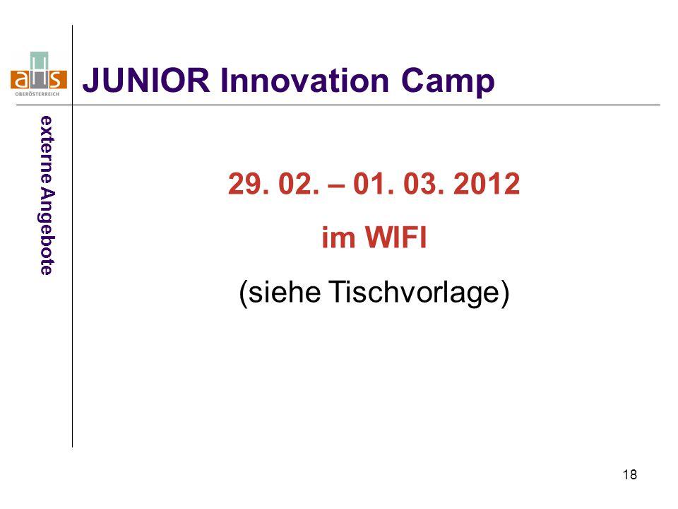 JUNIOR Innovation Camp