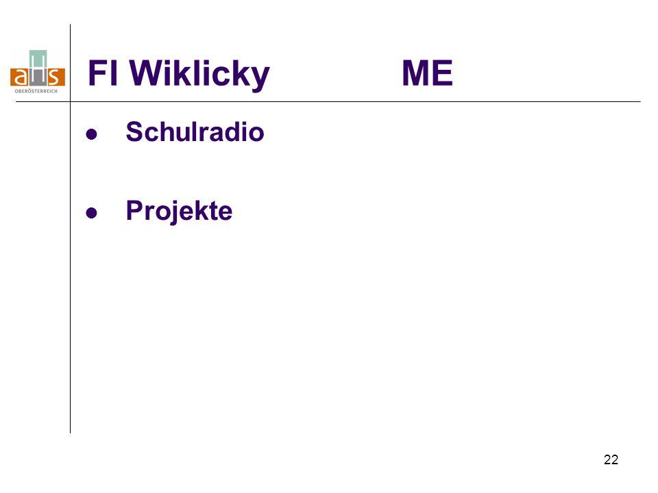 FI Wiklicky ME Schulradio Projekte 22