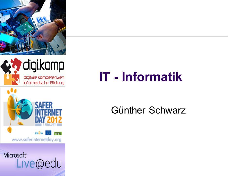 IT - Informatik Günther Schwarz