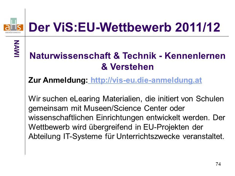 Naturwissenschaft & Technik - Kennenlernen & Verstehen
