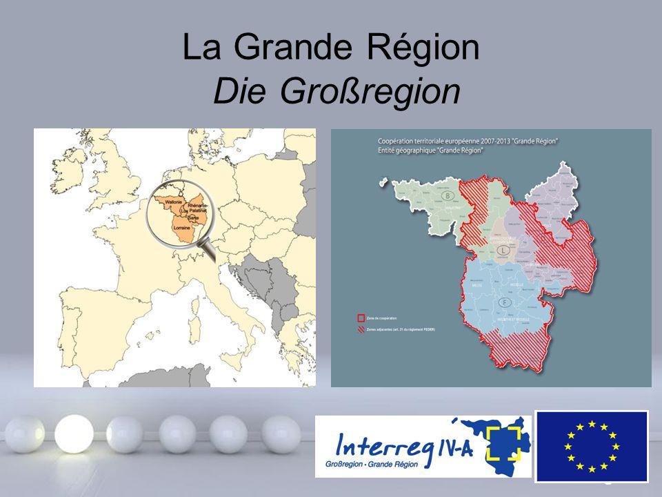 La Grande Région Die Großregion