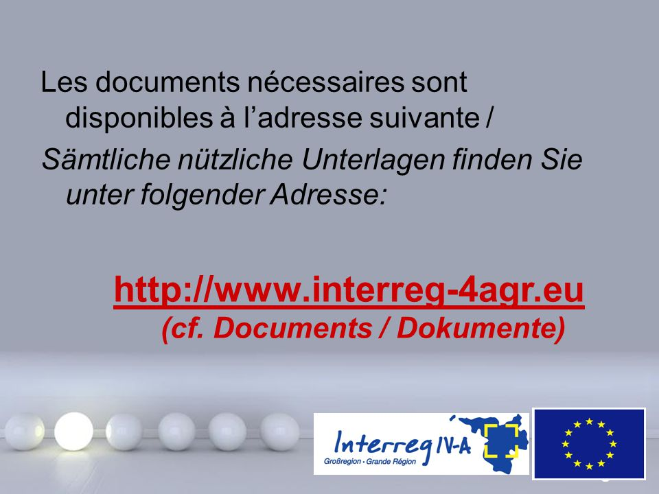 (cf. Documents / Dokumente)