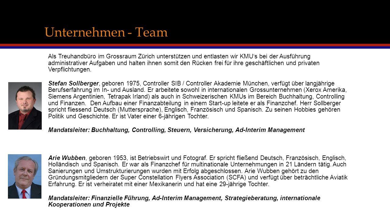 Unternehmen - Team