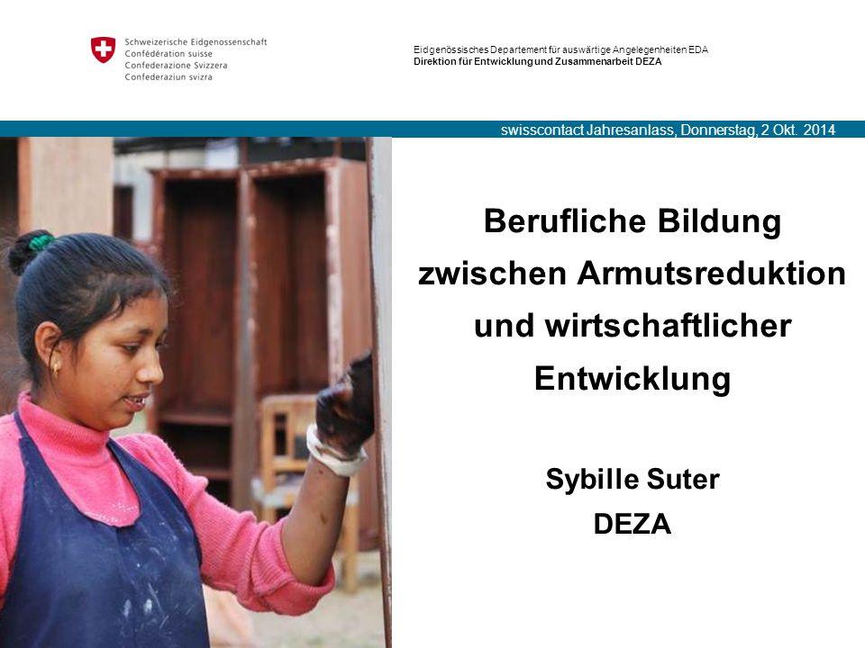 swisscontact Jahresanlass, Donnerstag, 2 Okt. 2014
