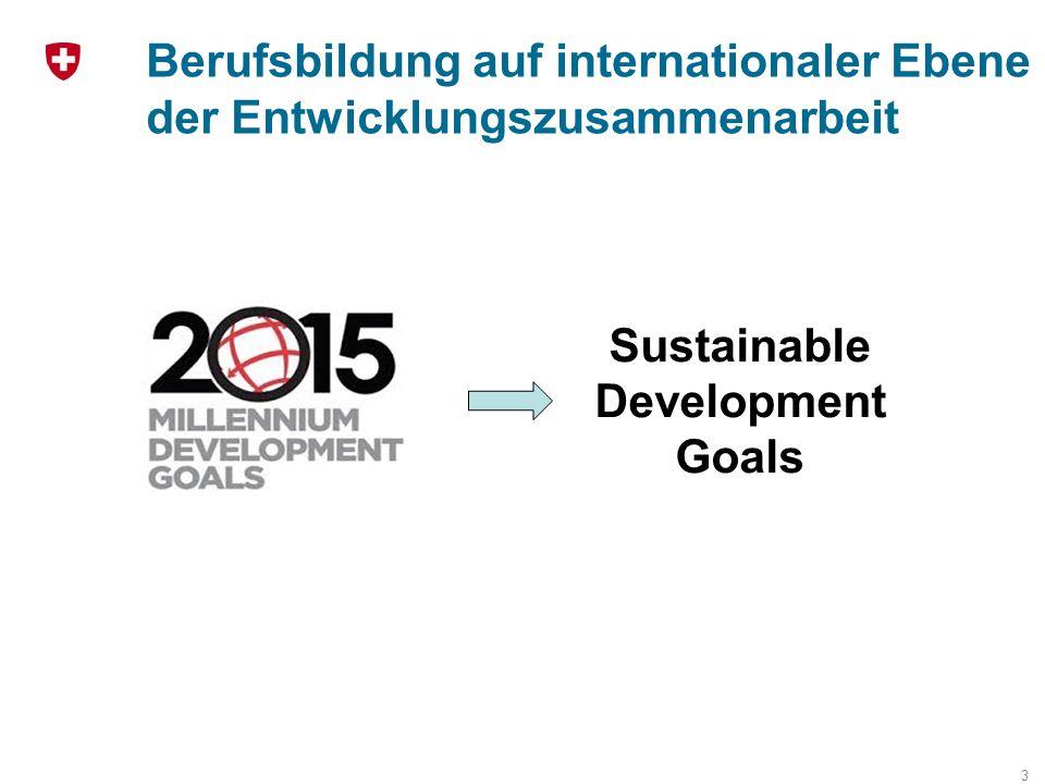 Berufsbildung auf internationaler Ebene der Entwicklungszusammenarbeit