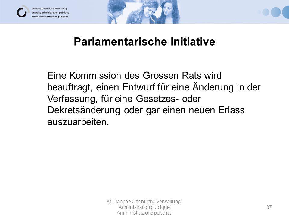 Parlamentarische Initiative