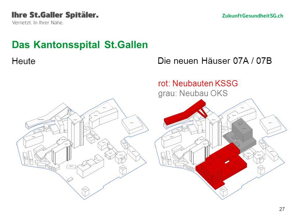 Das Kantonsspital St.Gallen