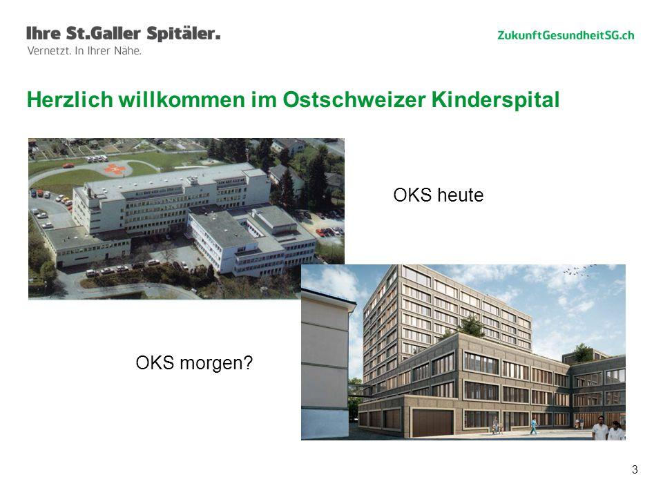 Herzlich willkommen im Ostschweizer Kinderspital