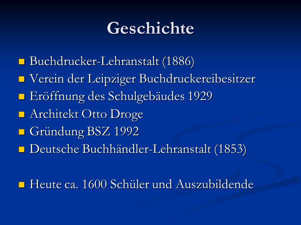 Geschichte Buchdrucker-Lehranstalt (1886)
