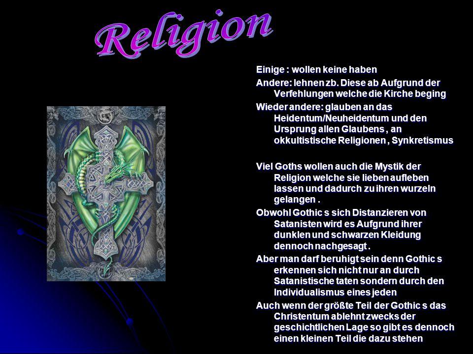 Religion Einige : wollen keine haben