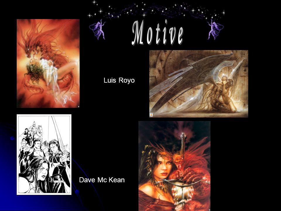Motive Luis Royo Dave Mc Kean