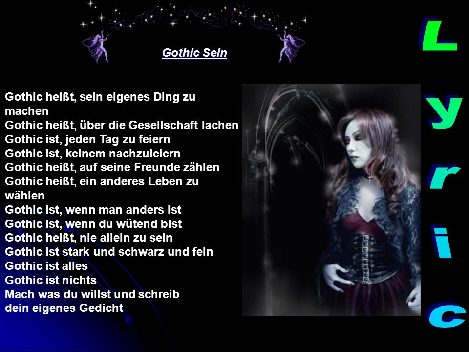 Gothic Sein