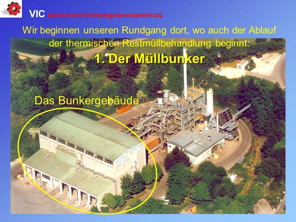 1. Der Müllbunker Das Bunkergebäude
