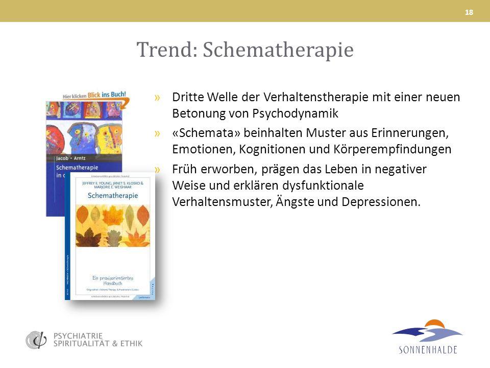 Trend: Schematherapie