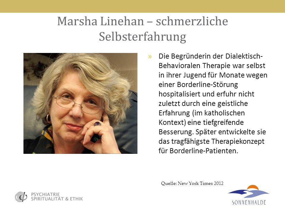 Marsha Linehan – schmerzliche Selbsterfahrung