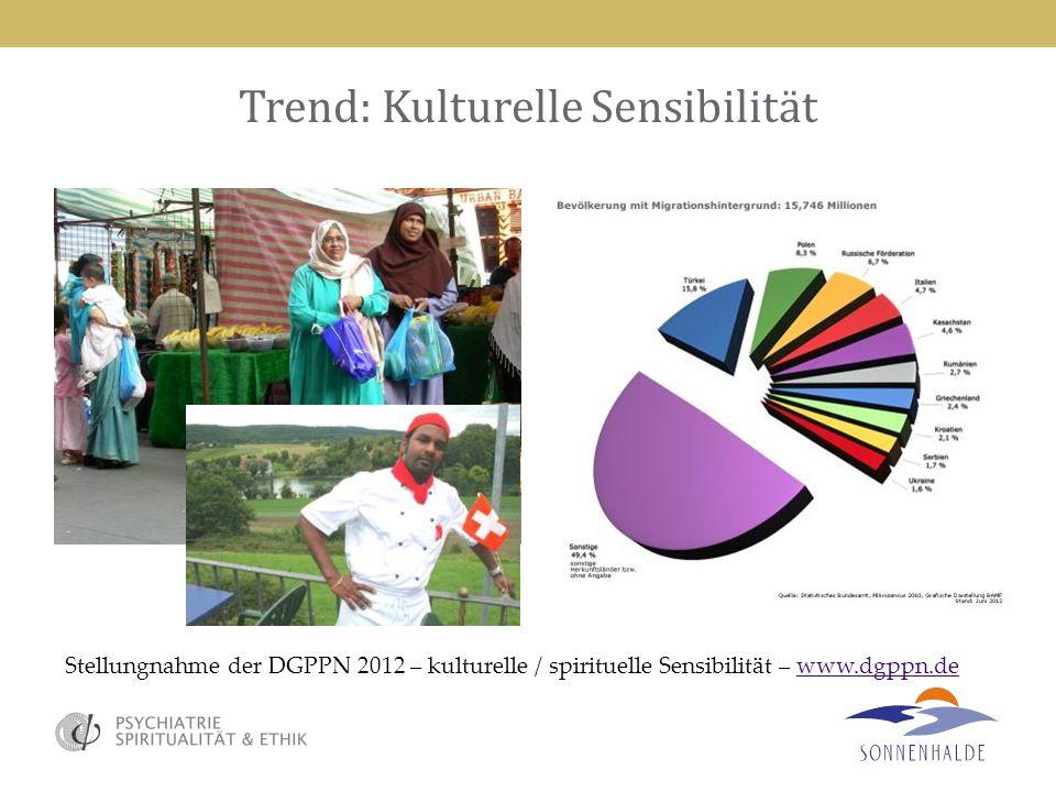 Trend: Kulturelle Sensibilität