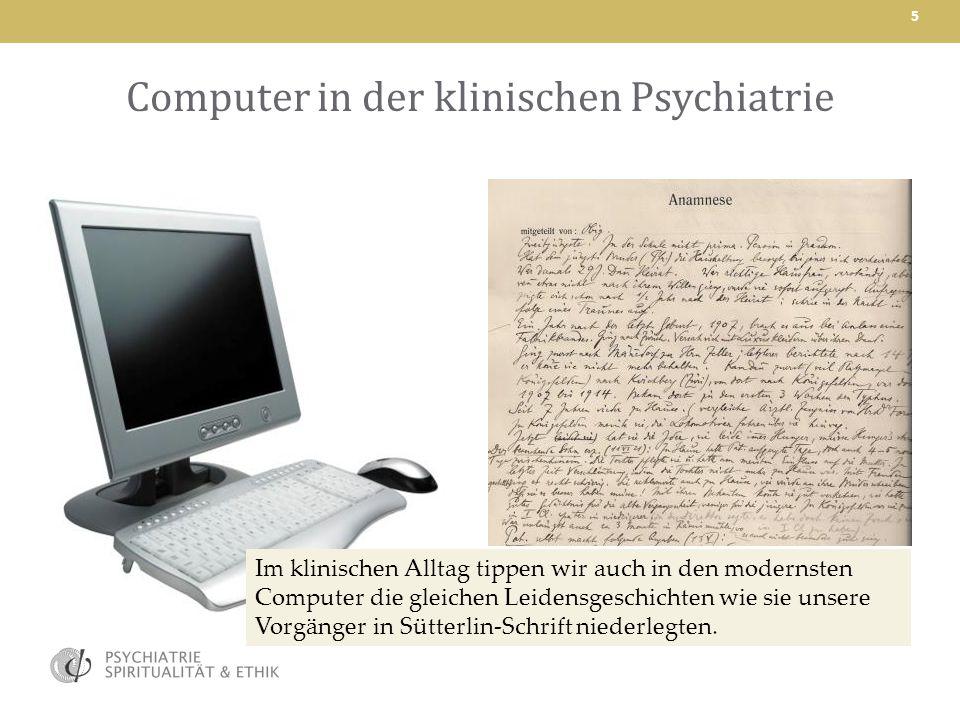 Computer in der klinischen Psychiatrie