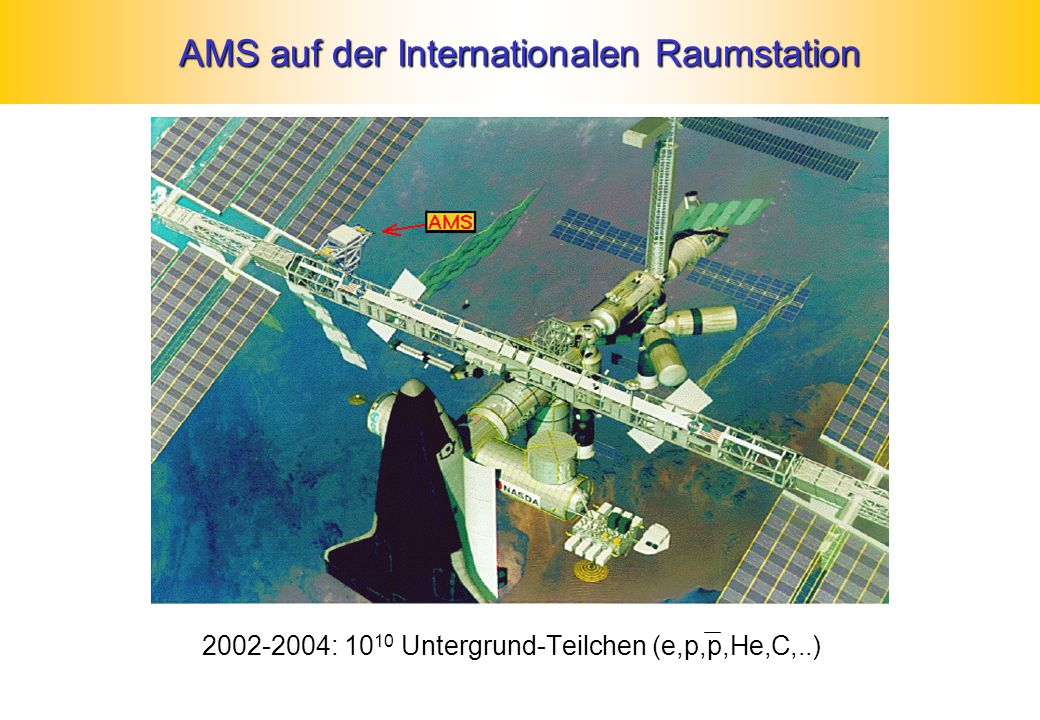 AMS auf der Internationalen Raumstation