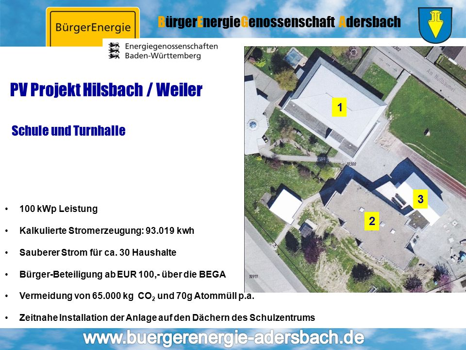 PV Projekt Hilsbach / Weiler