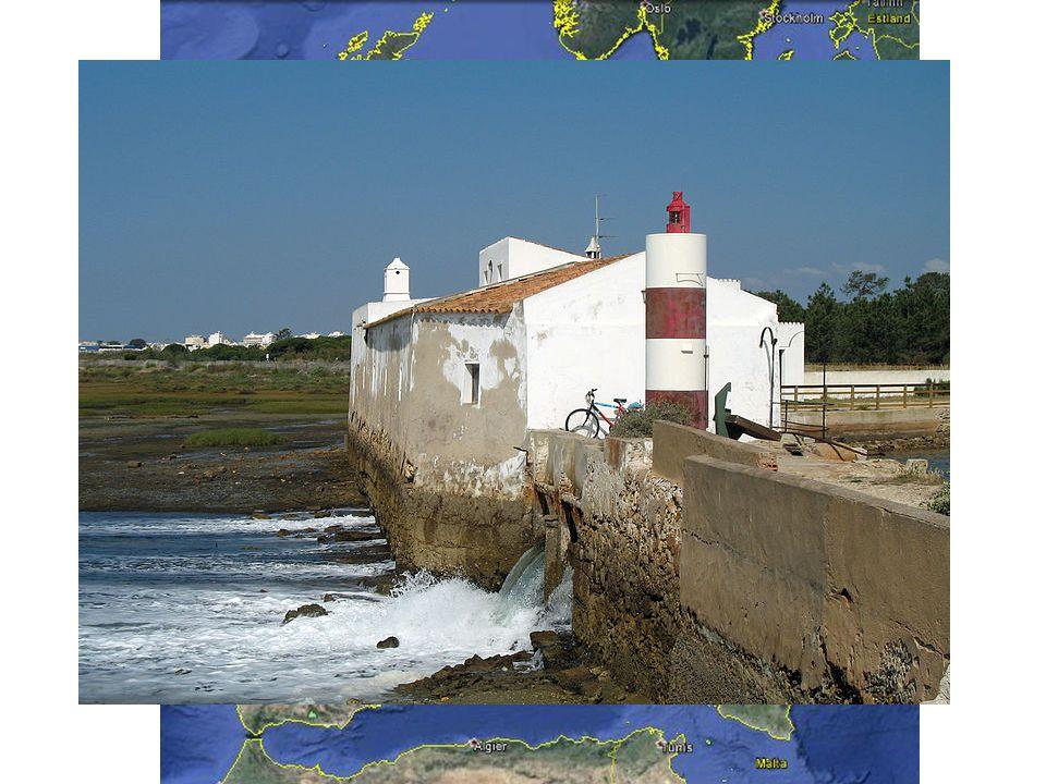 Gezeitenmühle in Olhão Portugal