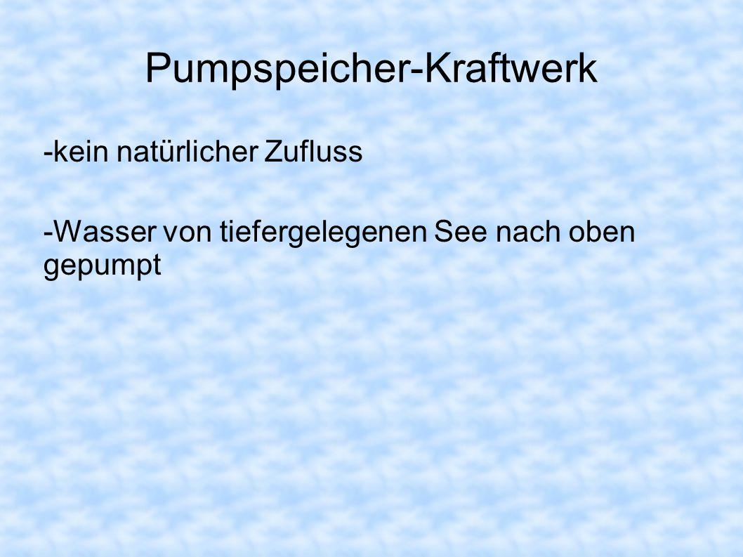 Pumpspeicher-Kraftwerk