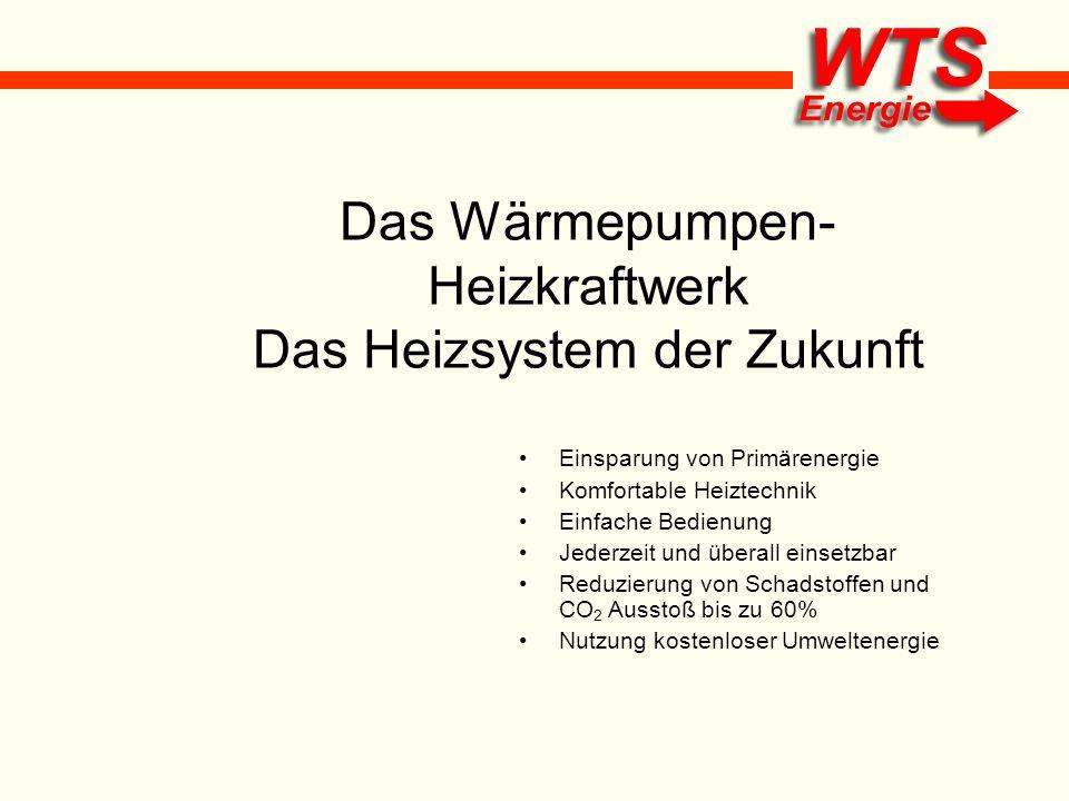 Das Wärmepumpen-Heizkraftwerk Das Heizsystem der Zukunft