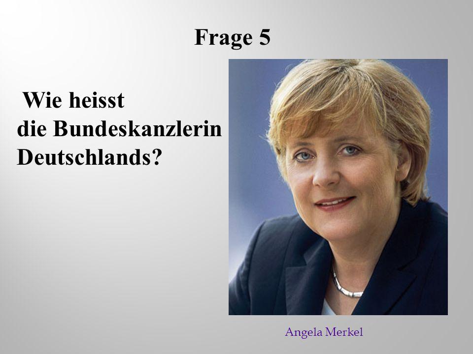 die Bundeskanzlerin Deutschlands