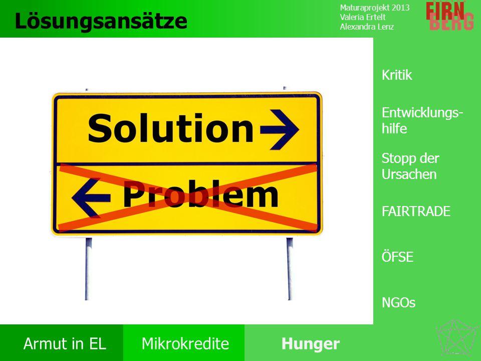 Lösungsansätze Kritik Entwicklungs-hilfe Stopp der Ursachen FAIRTRADE
