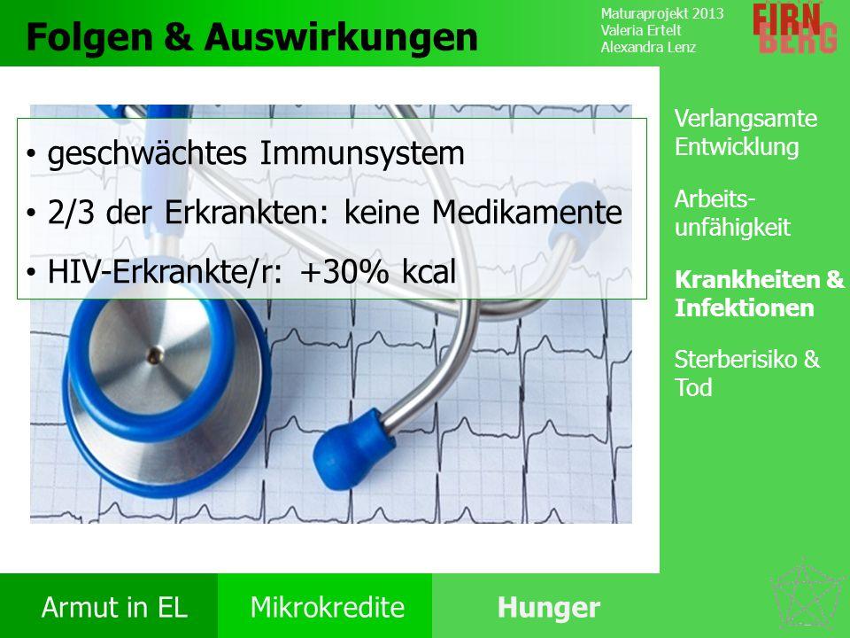 Folgen & Auswirkungen geschwächtes Immunsystem