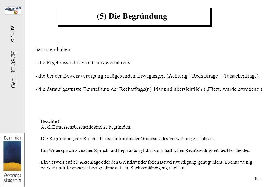 (6) Die Rechtsmittelbelehrung