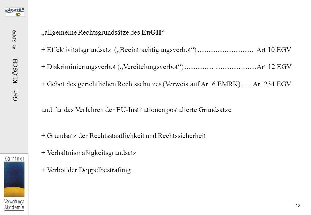 Die Zuständigkeit I § 1 AVG Grundsätze: