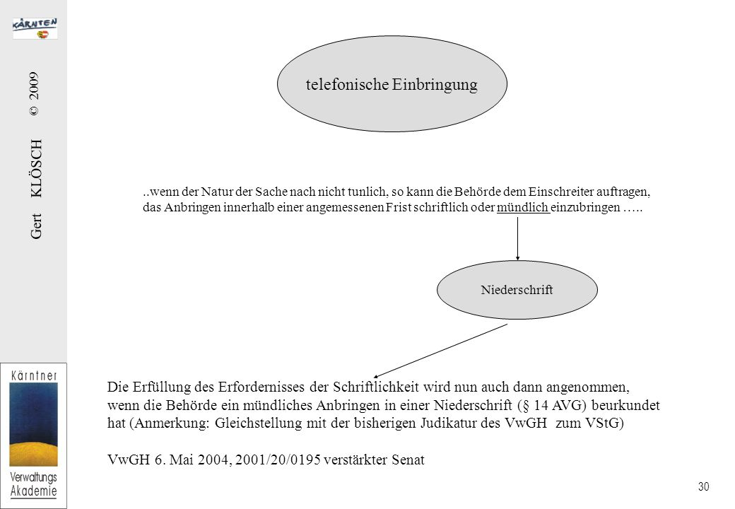 Mängelbehebung (§ 13 Abs 3 AVG)