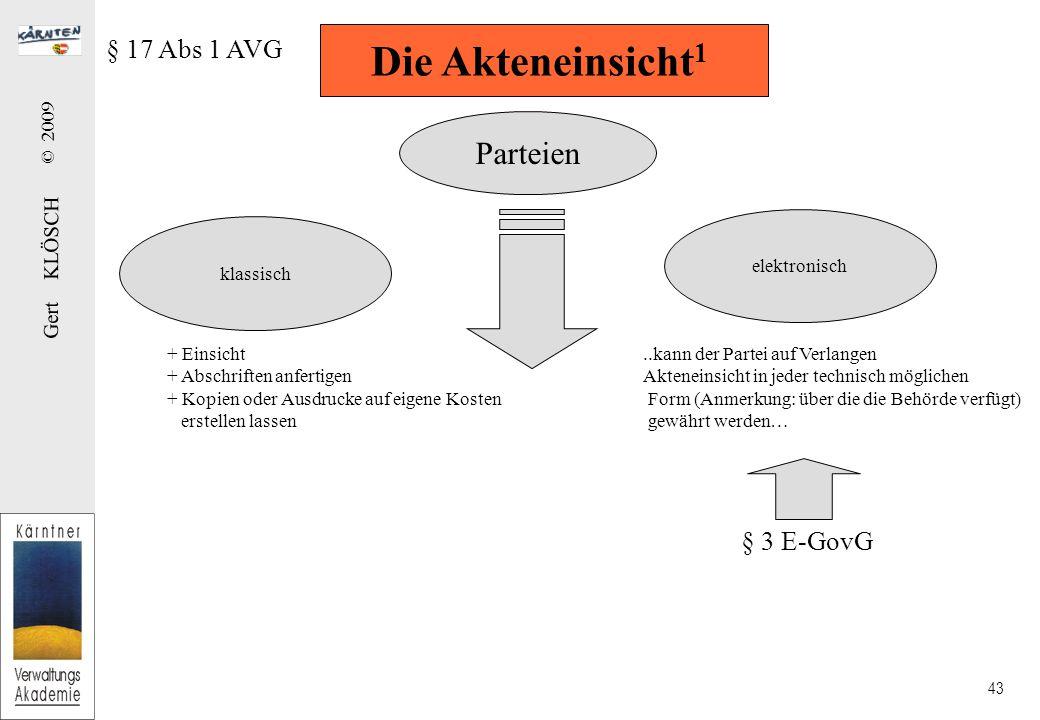 Die Akteneinsicht2 + allen Parteien im gleichen Umfang