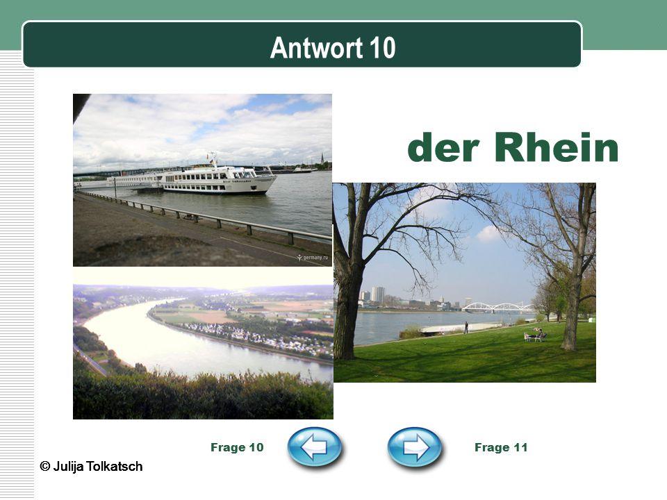 der Rhein Antwort 10 © Julija Tolkatsch © Julija Tolkatsch