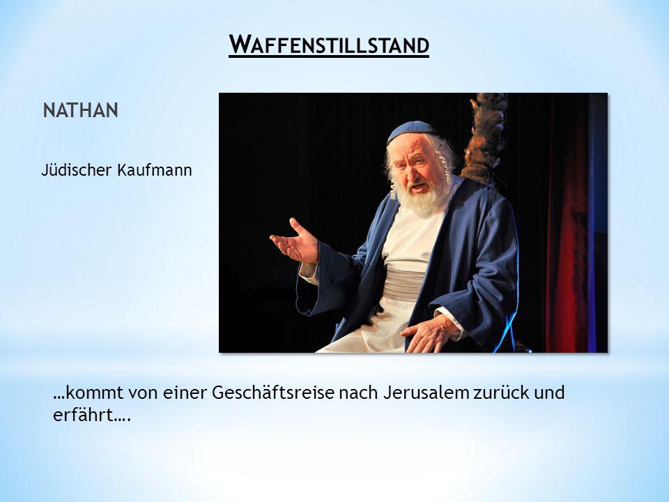 Waffenstillstand Nathan Jüdischer Kaufmann