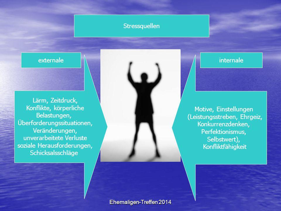 Konflikte, körperliche Belastungen, Überforderungssituationen,