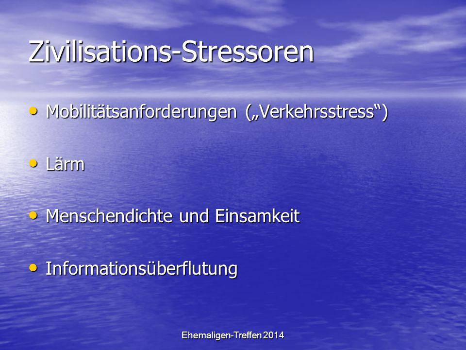 Zivilisations-Stressoren