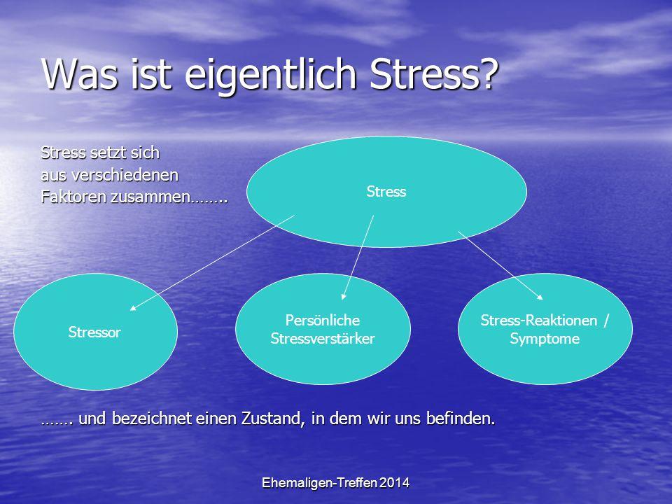 Was ist eigentlich Stress