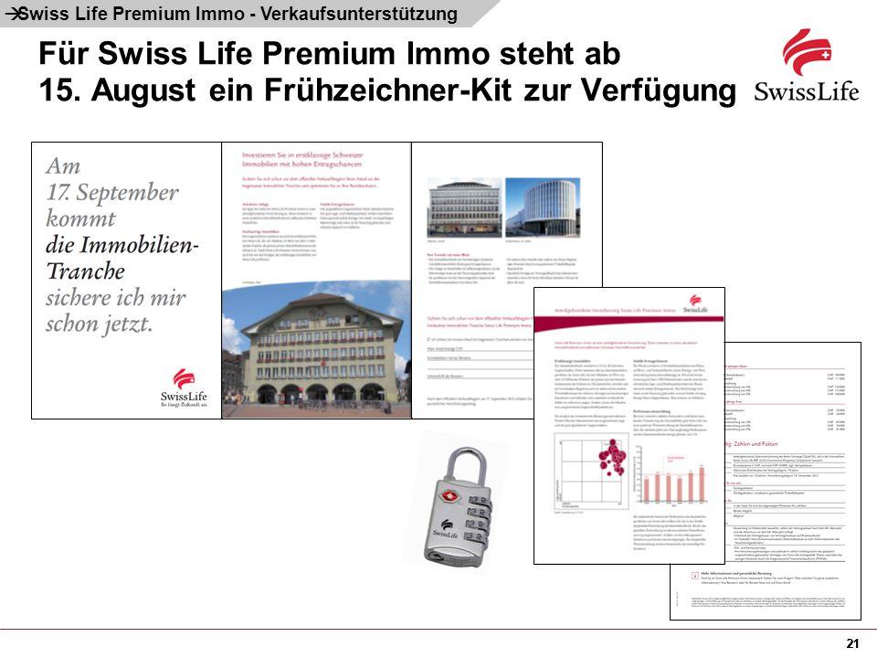 à Swiss Life Premium Immo - Verkaufsunterstützung