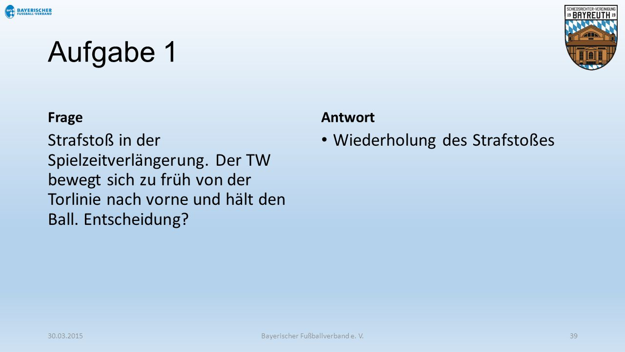 Bayerischer Fußballverband e. V.