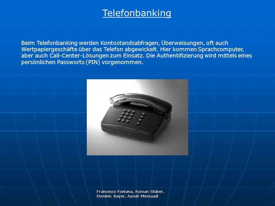 Telefonbanking