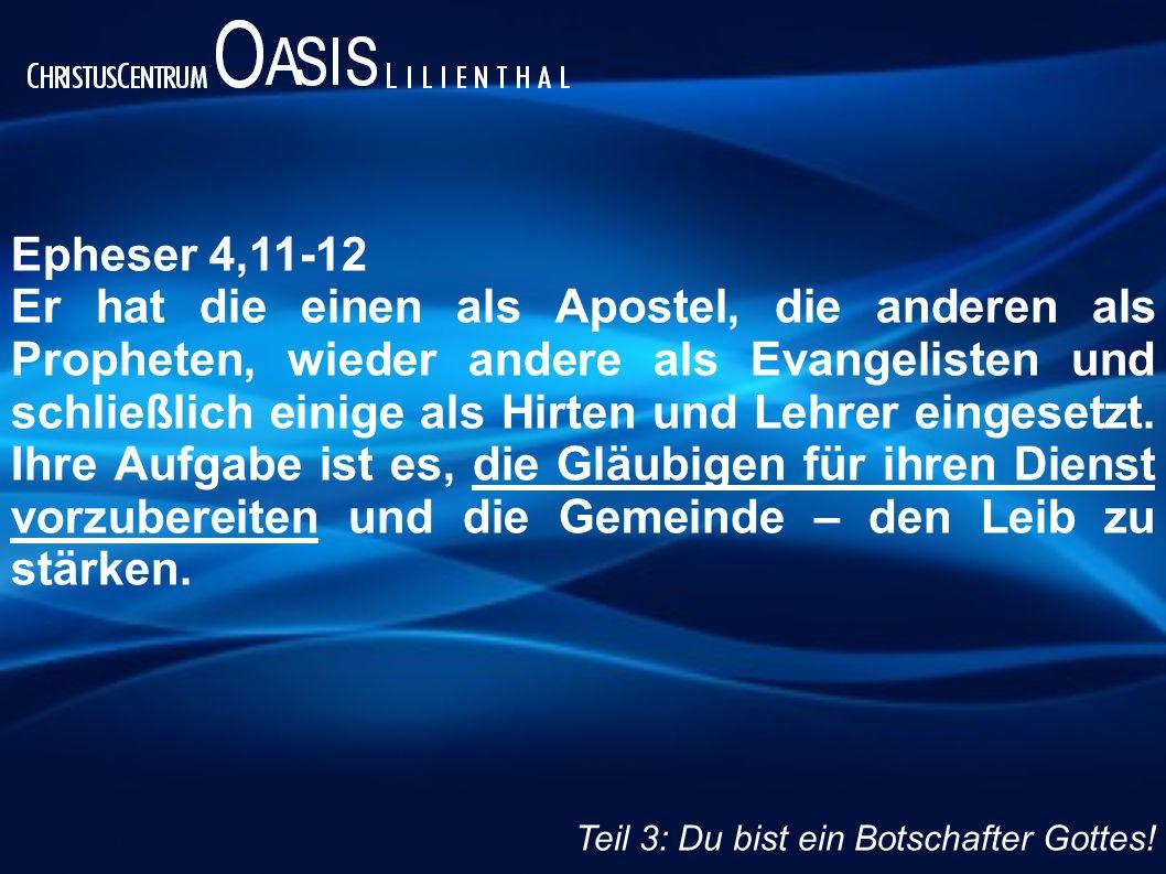Epheser 4,11-12