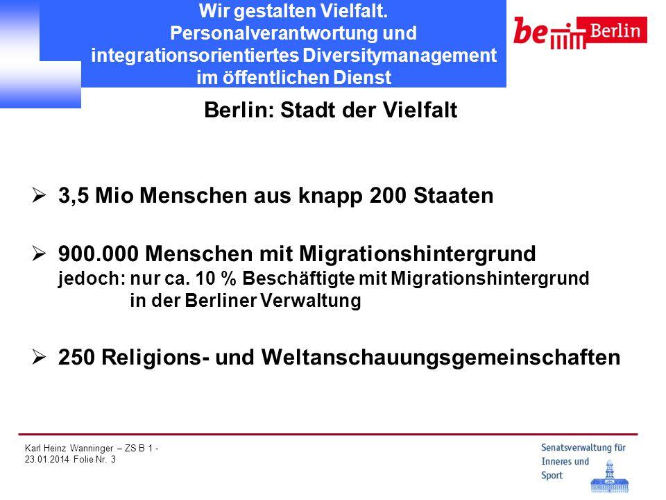 Berlin: Stadt der Vielfalt