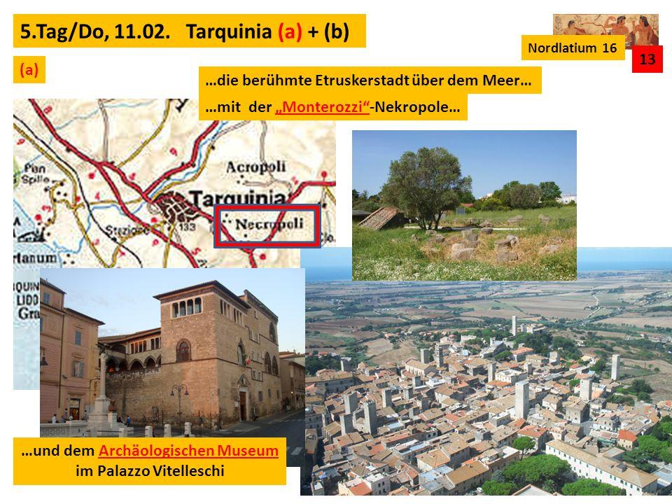 …und dem Archäologischen Museum im Palazzo Vitelleschi