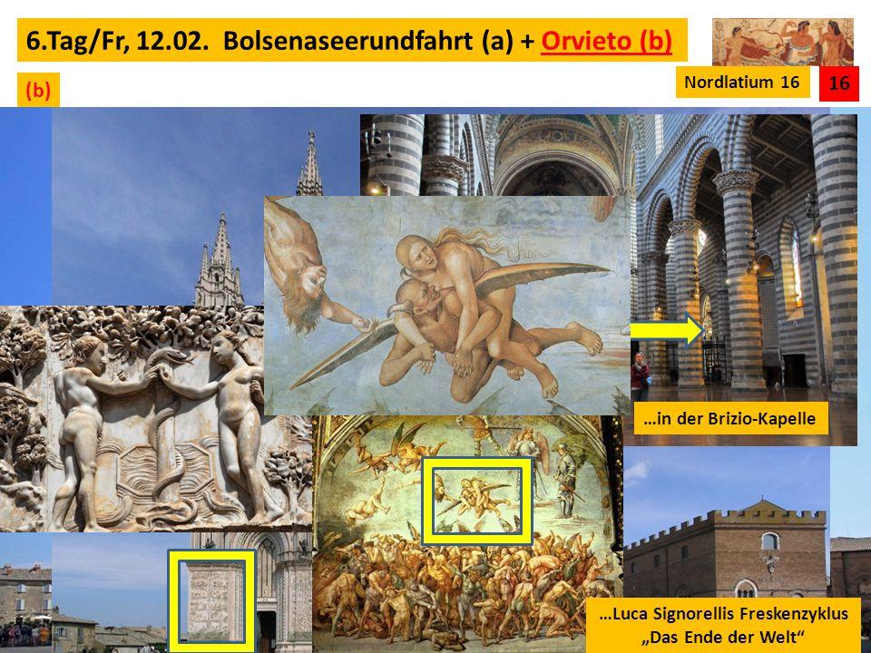 """…Luca Signorellis Freskenzyklus """"Das Ende der Welt"""